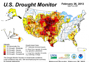 Dry Weather to Remain an Issue for Farmers in 2013